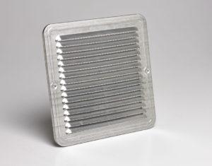 Griglia areazione metallica